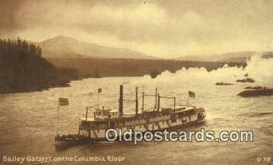 shi009298 - Road Of A Thousand Wonders, Oregon, OR USA Steam Ship Postcard Post Cards