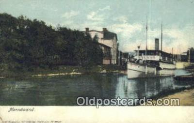 shi009334 - Hernosand Steam Ship Postcard Post Cards