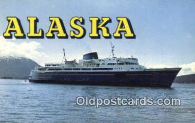 shi009337 - Three Ferries MV Malapina, MV Taku, And The MV Matanuska, Alaska, AK USA Steam Ship Postcard Post Cards
