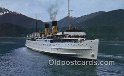 shi009338 - The Princess Patricia, Vancouver, British Columbia, BC Steam Ship Postcard Post Cards