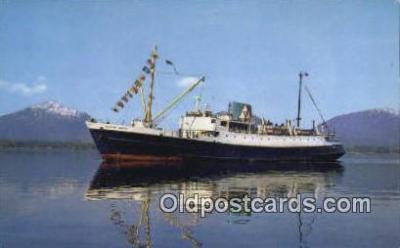 shi009342 - SS Glacier Queen, Vancouver, British Columbia, BC  Steam Ship Postcard Post Cards