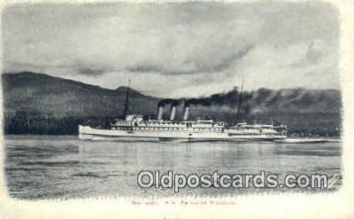 shi009389 - SS Princess Victoria, British Columbia, BC  Steam Ship Postcard Post Cards