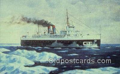 shi009395 - City Of Milwaukee, Manitowoc, Wisconsin, WI USA Steam Ship Postcard Post Cards