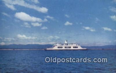 shi009430 - MV Adirondack, New York, NY USA Steam Ship Postcard Post Cards