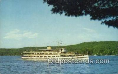 shi009443 - Mv Mount Washington, Alton Bay, New Hampshire, NH USA Steam Ship Postcard Post Cards