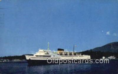 shi009485 - Princess Vancouver, Vancouver, British Columbia, BC  Steam Ship Postcard Post Cards