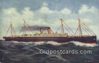 shi009506 - Steamship Baltic Steam Ship Postcard Post Cards