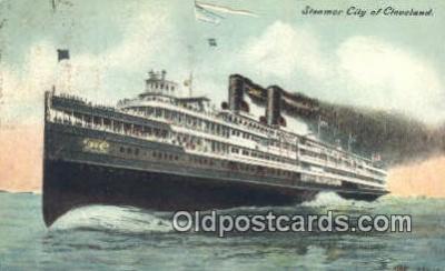 shi009519 - Steam Ship Postcard Post Cards