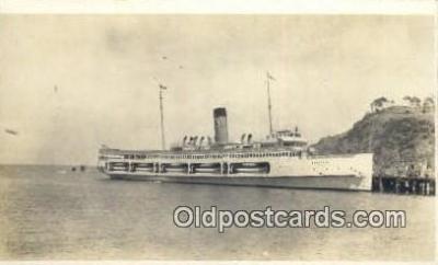shi009532 - Printed Photo, Steamer Catalina Steam Ship Postcard Post Cards