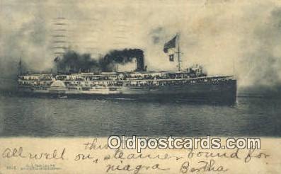 shi009563 - City Of Buffalo, New York, NY USA Steam Ship Postcard Post Cards