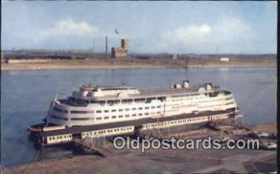 shi009569 - SS Admiral, St Louis, Missouri, MO USA Steam Ship Postcard Post Cards