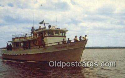 shi009570 - The Cumberland Queen, St Mary's, Georgia, GA USA Steam Ship Postcard Post Cards