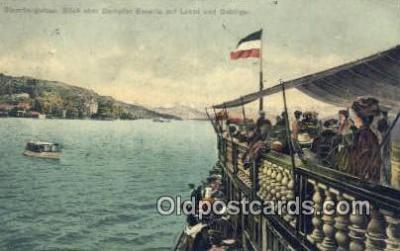 shi009579 - Starnbergersew Steam Ship Postcard Post Cards