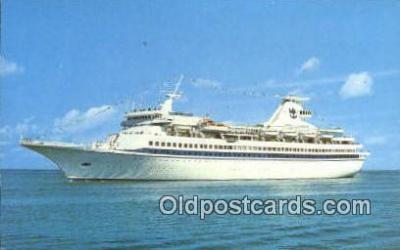 shi009601 - Royal Caribbean Cruise Line, Miami, Florida, FL USA Steam Ship Postcard Post Cards