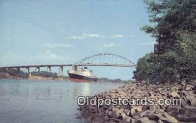 shi009607 - St Georges, St Georges, Delaware, DE USA Steam Ship Postcard Post Cards