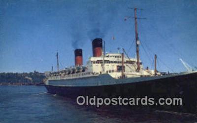 shi009615 - Ile De France Steam Ship Postcard Post Cards