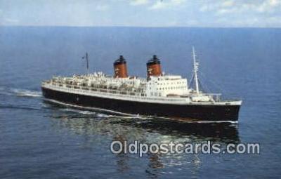 shi009618 - SS Hanseatic Hamburg Atlantic Line, Hamburg Steam Ship Postcard Post Cards