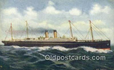 shi009653 - Steamer Baltic Steam Ship Postcard Post Cards
