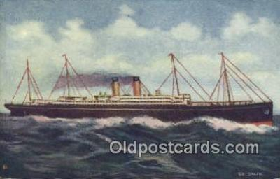 shi009658 - Steamship Baltic Steam Ship Postcard Post Cards