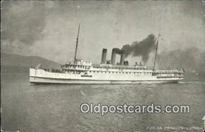 shi009661 - CPR SS Princess Victoria Steam Ship Postcard Post Cards
