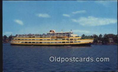 shi009663 - MV George Washington, Maryland, MD USA Steam Ship Postcard Post Cards