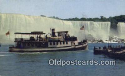 shi009683 - Maid Of The Mist, Niagara Falls, New York, NY USA Steam Ship Postcard Post Cards