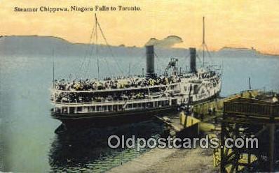 shi009692 - Steamer Chippewa,Tononto, Canada Steam Ship Postcard Post Cards
