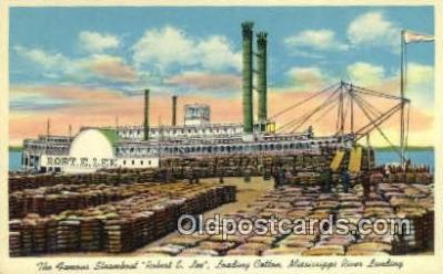 shi009700 - The Famous Steamboat, Robert E Lee, New Orleans, Louisiana, LA USA Steam Ship Postcard Post Cards
