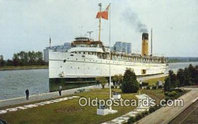 shi009728 - SS Keewatin, Lake Huron Steam Ship Postcard Post Cards