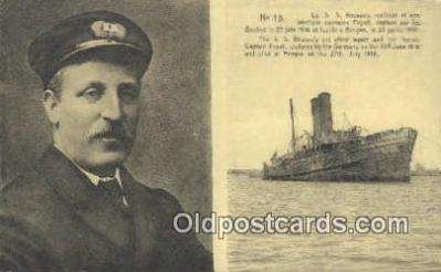 shi009729 - Le SS Brussels Steam Ship Postcard Post Cards