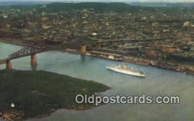 shi009737 - Montreal, PQ Canada Steam Ship Postcard Post Cards