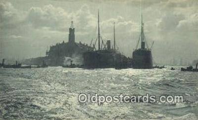 shi009738 - Briefkaart Dopisnice Steam Ship Postcard Post Cards