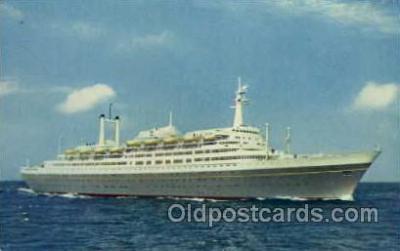 shi010008 - Rotterdam Holland America Line Ship Ships