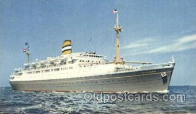 shi010066 - S.S. Maasdam Holland - American Line, Lines, Liner, Ship Ships Postcard Postcards