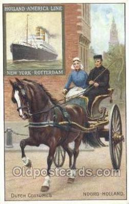 shi010088 - Noord Holland - America Line, Steamer, Steam Boat, Ship Ships, Postcard Postcards