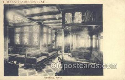 shi010113 - Holland American Line Holland - America Line, Steamer, Steam Boat, Ship Ships, Postcard Postcards