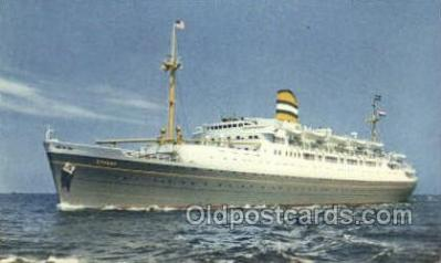 shi010124 - SS Ryndam Holland - America Line, Steamer, Steam Boat, Ship Ships, Postcard Postcards