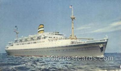 shi010128 - SS Maasdam Holland - America Line, Steamer, Steam Boat, Ship Ships, Postcard Postcards