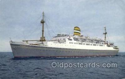 shi010130 - SS Maasdam Holland - America Line, Steamer, Steam Boat, Ship Ships, Postcard Postcards