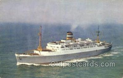 shi010133 - SS Maasdam Holland - America Line, Steamer, Steam Boat, Ship Ships, Postcard Postcards