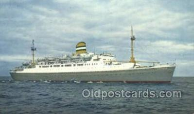 shi010137 - SS Maasdam Holland - America Line, Steamer, Steam Boat, Ship Ships, Postcard Postcards