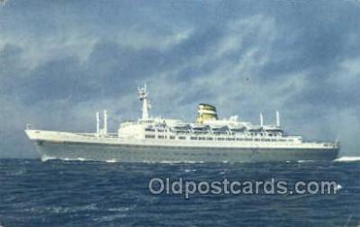 shi010140 - SS Statendam Holland - America Line, Steamer, Steam Boat, Ship Ships, Postcard Postcards