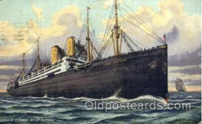 shi014015 - George Washington  Ship Ships Ocean Liner Postcard Postcards