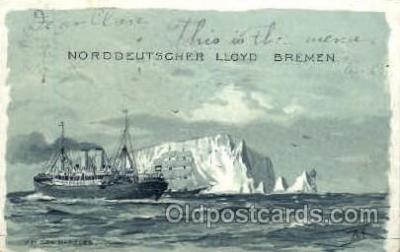 shi014016 - Bei Den Needles Ship Ships Ocean Liner Postcard Postcards