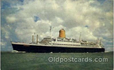 shi014024 - T.S. Bremen Ship Ships Ocean Liner Postcard Postcards