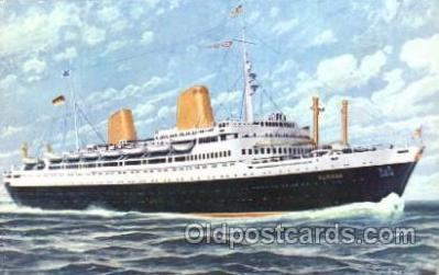 shi014026 - M.S. Europa North German Lloyd, Ship Ships Postcard Postcards