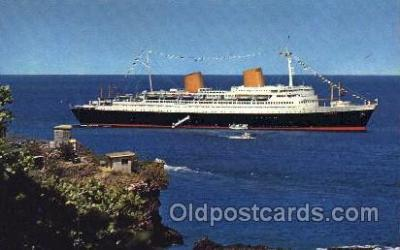 shi014028 - M.S. Europa North German Lloyd, Ship Ships Postcard Postcards