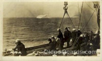 shi015080 - U.S.S. Frederick Military Ship Real Photo Ships Postcard Postcards