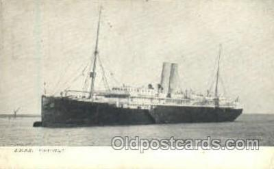 shi018004 - R.M.S.P. Orotava, The Royal Mail Steam Packet Co, Ship Ships Postcard Postcards