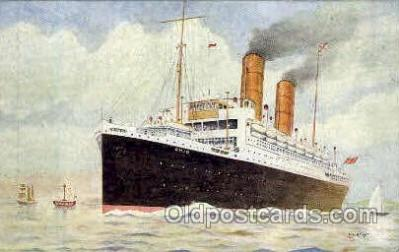 shi018006 - R.M.S. Ohio, The Royal Mail Steam Packet Co, Ship Ships Postcard Postcards